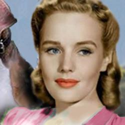 Frances Farmer. Face of an angel, but full of the devil?