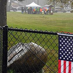Dedication Day, April 24, 2015. As typical (i.e., soggy) a spring day in Pierce County as one could ask for!