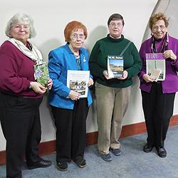 Left to right: Nancy Covert, Carol Stout, Meg Justus, Dorothy Wilhelm