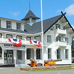 Lewis Army Museum, site of our May 23rd program.