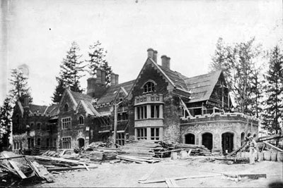 Thornewood Castle Under Construction